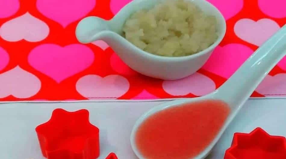 Aprenda a preparar papinhas doces com batata doce e maçã
