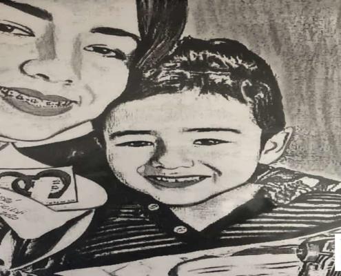 Desenho do Concurso Cultural do Mês das Mães, Mirian Camargo