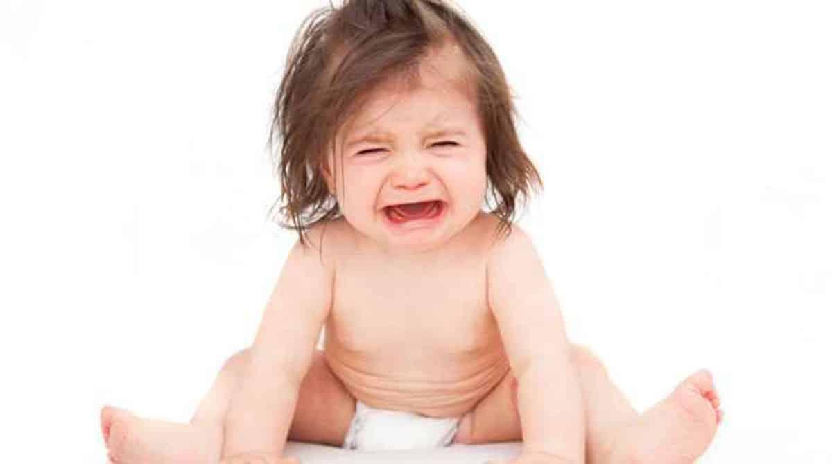 Não deixe o bebê chorando