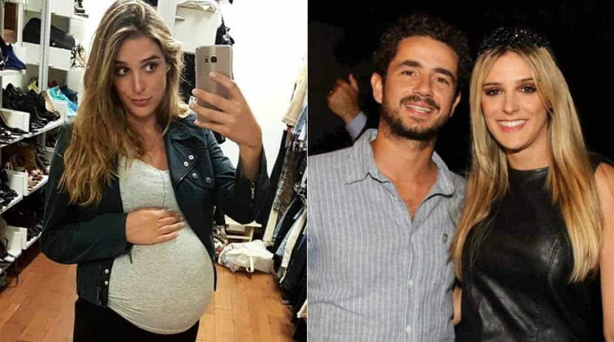 A jornalista Rafa Brites se tornou mãe há 3 semanas