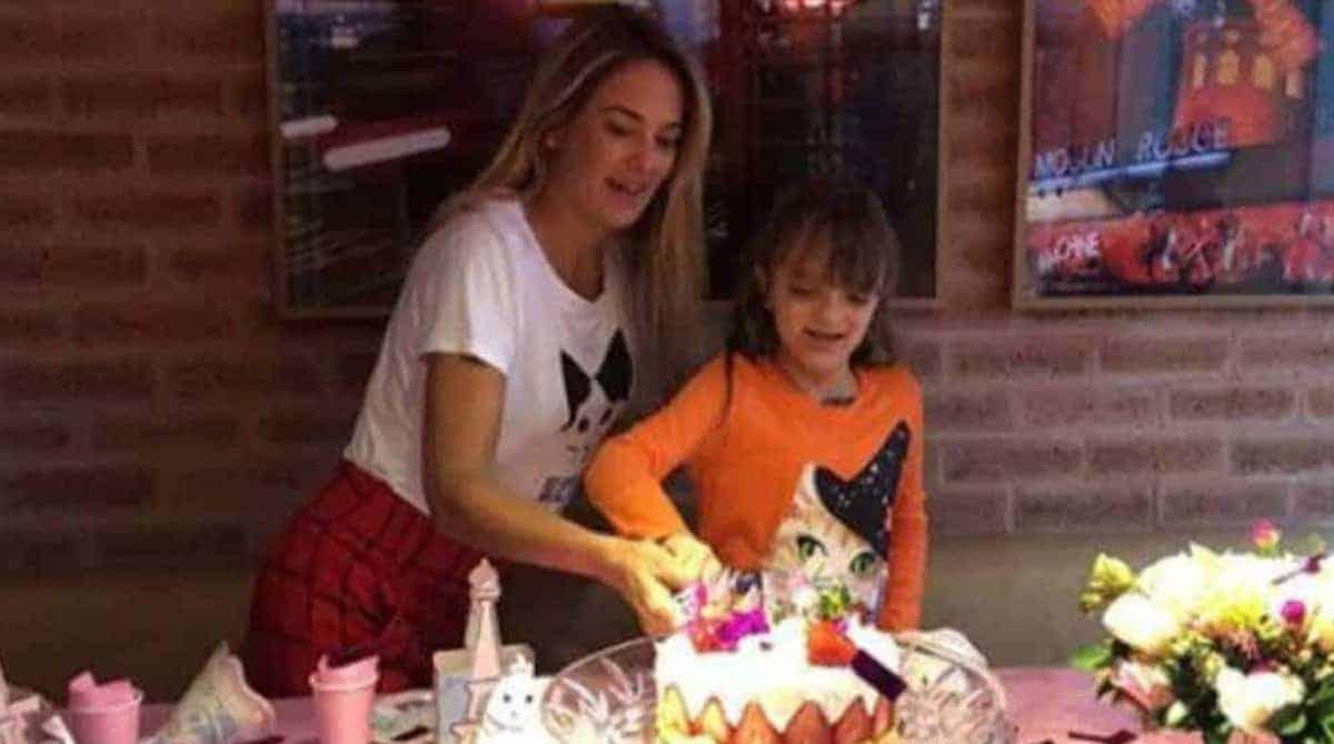 Ticiane Pinheiro, Rafa Justus no aniversário de Elsa