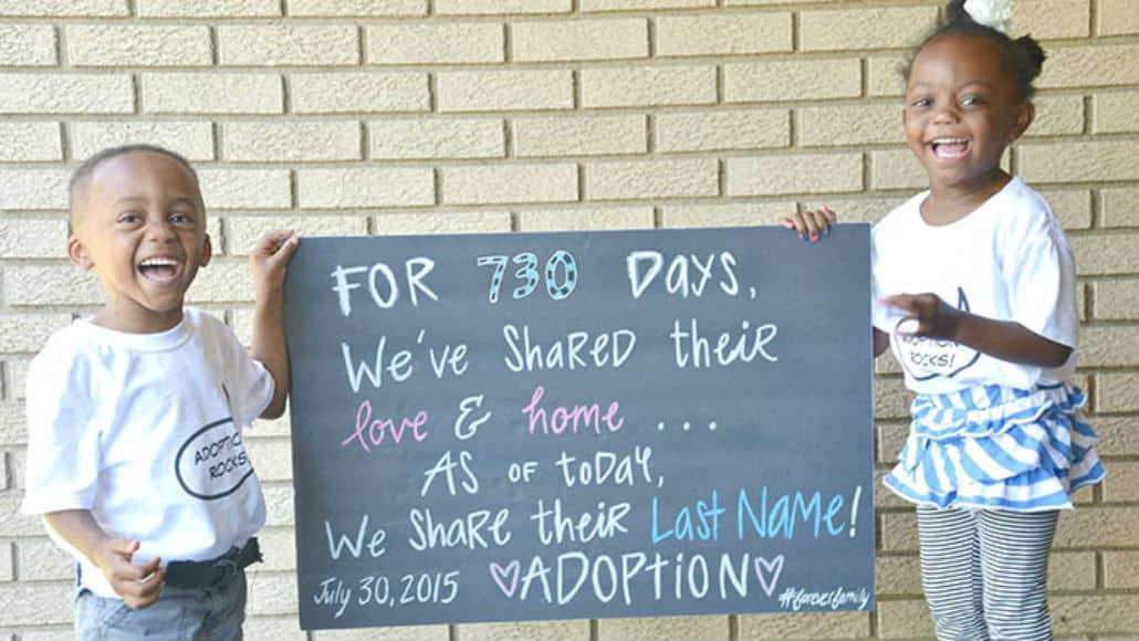 Lindas imagens sobre adoção
