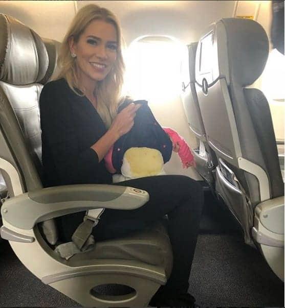 A ex-BBB Adriana Sant'Anna passou um apuro com a filha Linda