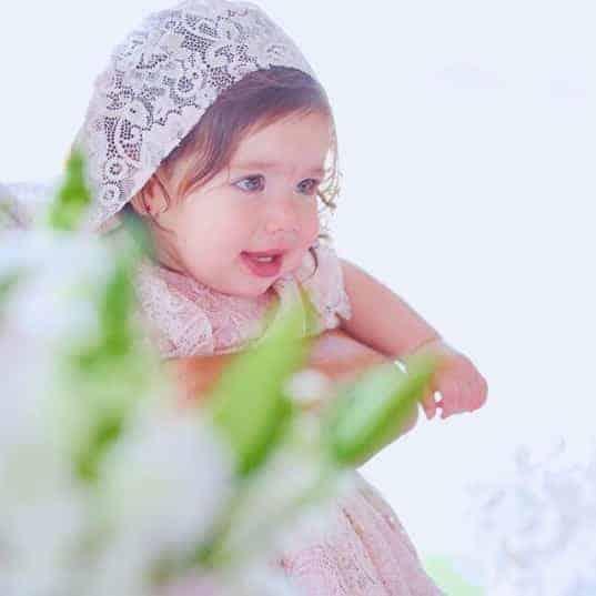 Conheça a pequena Linda, filha da ex-bbb Adriana Sant´Anna