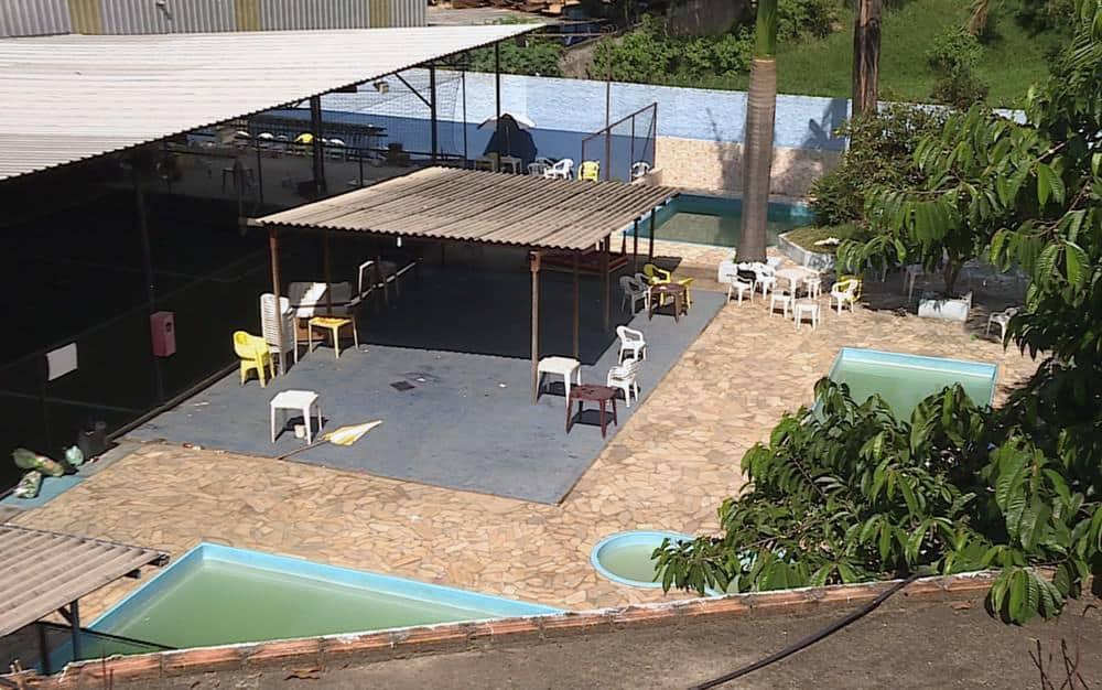 Foi nesse clube no bairro Vista Alegre em Belo Horizonte que aconteceu o acidente