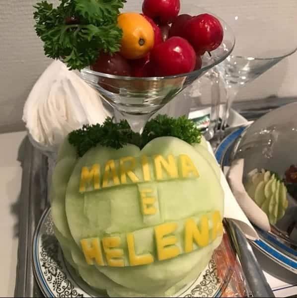 As frutas que Ivete recebeu na maternidade chamaram a atenção do marido da cantora