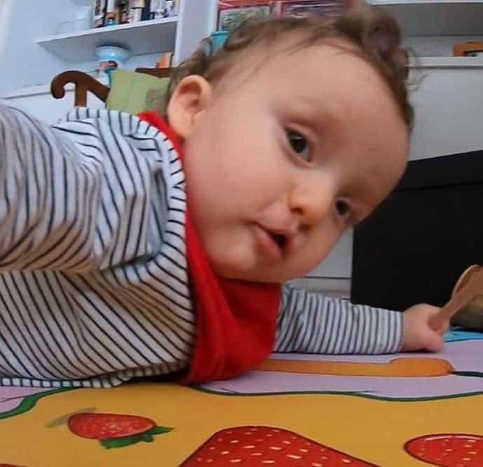 O sobrinho de Ana Hickmann em foto feita atualmente