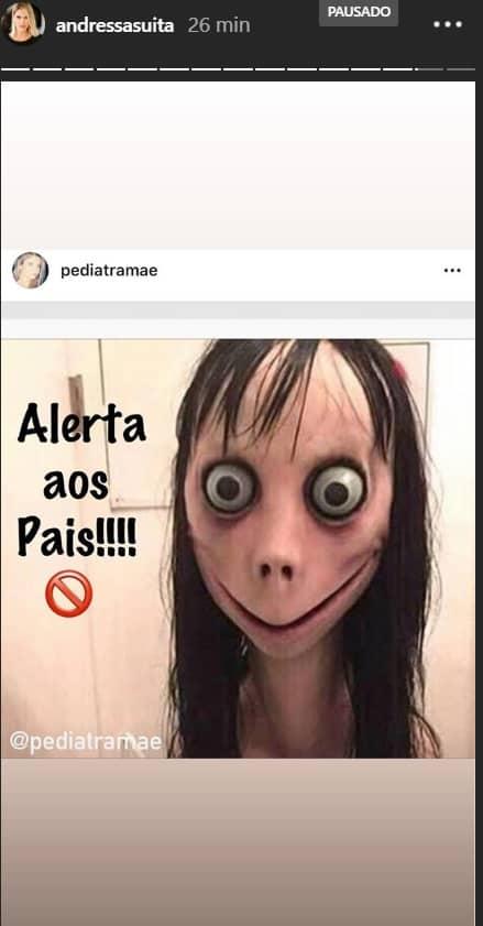 Mãe de dois bebês, Andressa Suita faz importante alerta