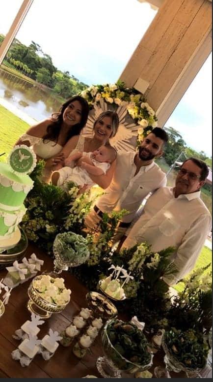 Publicação da festa do batizado do bebê Samuel, filho do cantor Gusttavo Lima e Andressa Suita