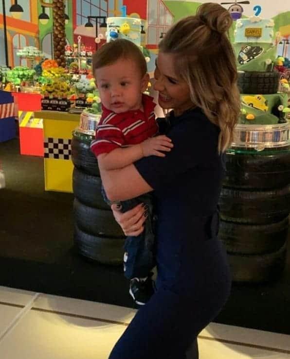 Andressa Suita e Gusttavo Lima celebraram o aniversário dos filhos