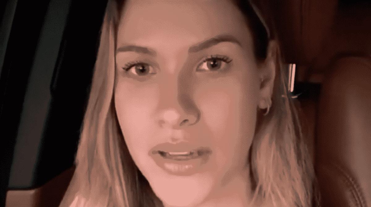 Andressa Suita explica sumiço