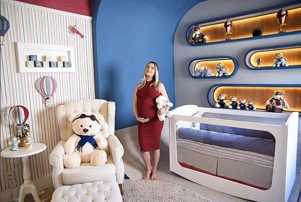 O bebê Samuel quando chegar ficar nesse lindo quarto