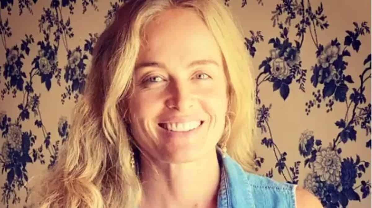 Angélica mostrou o encontro virtual de sua família
