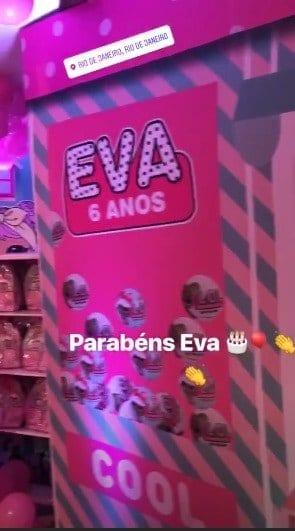 Mais detalhes da luxuosa festa de Eva filha de Luciano Huck e Angélica