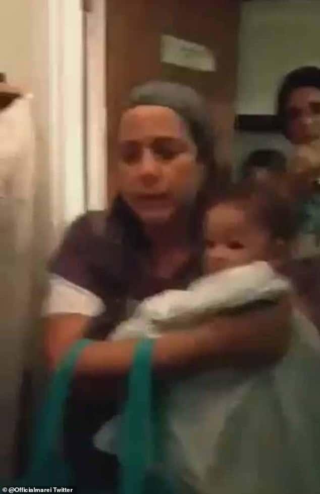 Momento que atriz teve que entregar bebê