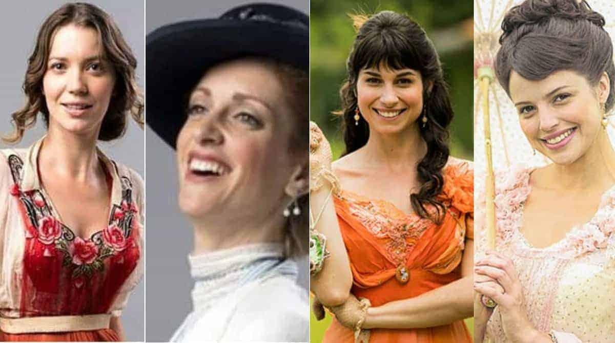 Uma dessas atrizes, Nathalia Dill, Agatha Moreira, Laila Zaid e Chandelly Braz, pode estar grávida