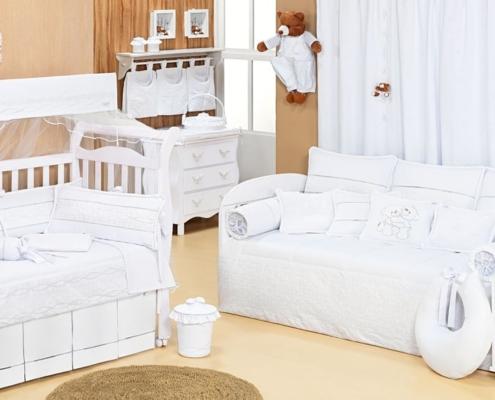 Ideias criativas de quartos clássicos para bebês