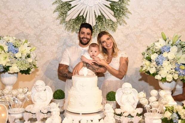 A linda festa de batizado do filho de Gusttavo Lima e Andressa Suita