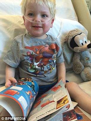 Esse é o fofo Dylan dias após ter acordado do coma