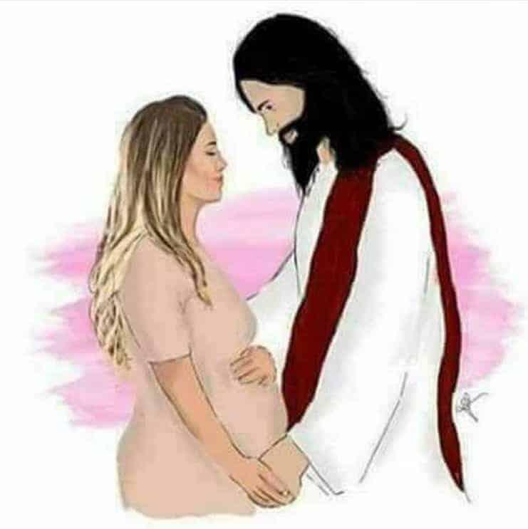 A atriz Juliana Diniz compartilhou essa foto após sua bebê morrer após o parto