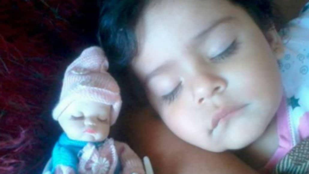 Bebê com rostinho igual ao da boneca