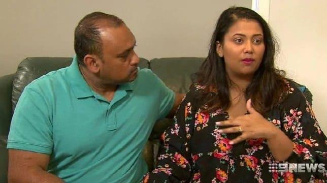 Os pais do bebê que morreu na espera do hospital, na Austrália