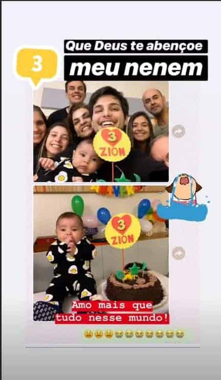 Mêsversário da bebê de Jade Seba