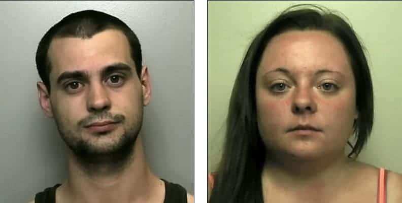 Pais foram presos por sufocarem seu bebê de dois meses