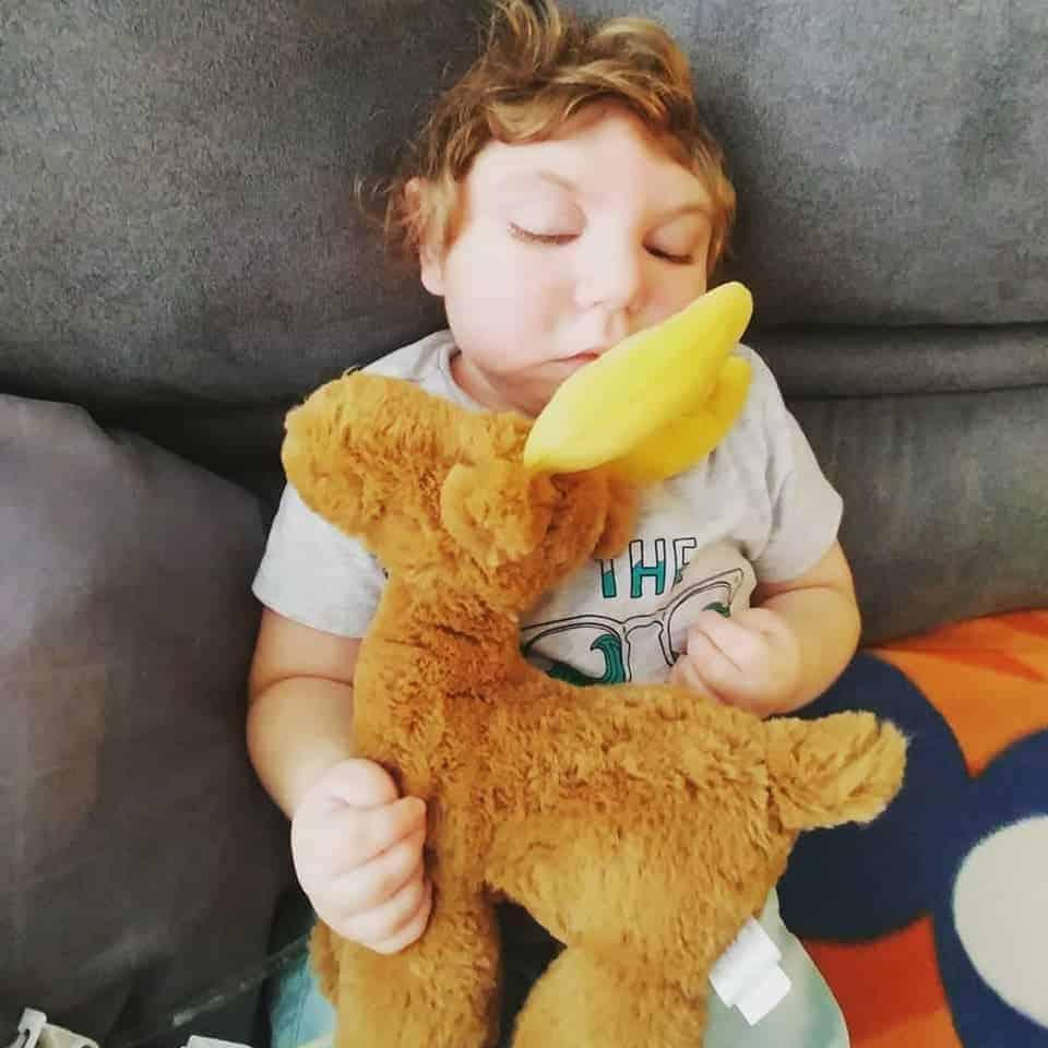 Essa foi uma das últimas fotos publicadas feita pelos pais do bebê Jaxon