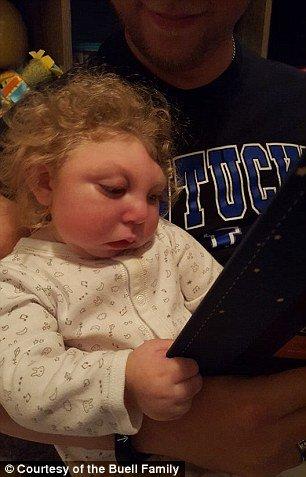 Essa imagem de 2017 do bebê Jaxon