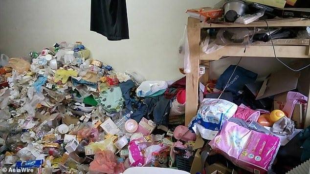 Parte da casa em que as bebês foram achadas