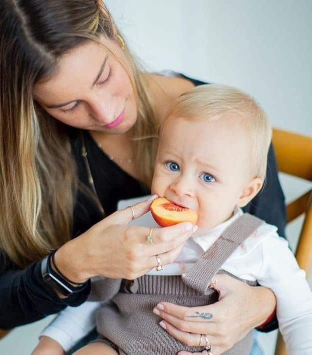 Bebê de Shantal que testou positivo para o Covid-19