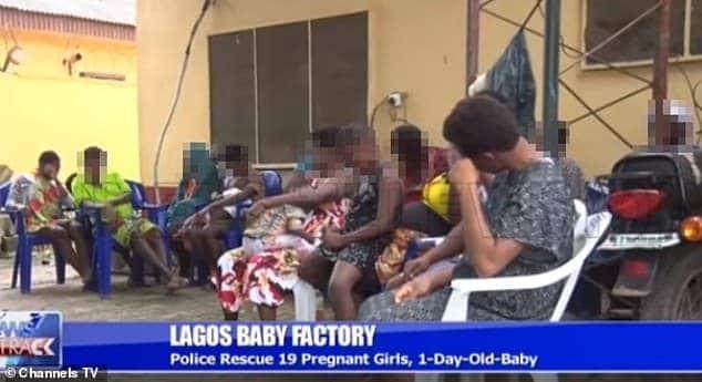 """Mulheres foram resgatadas da """"fábrica de bebês"""""""