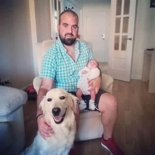Uma triste foto da família sem a blogueira Vanessa Fernandez