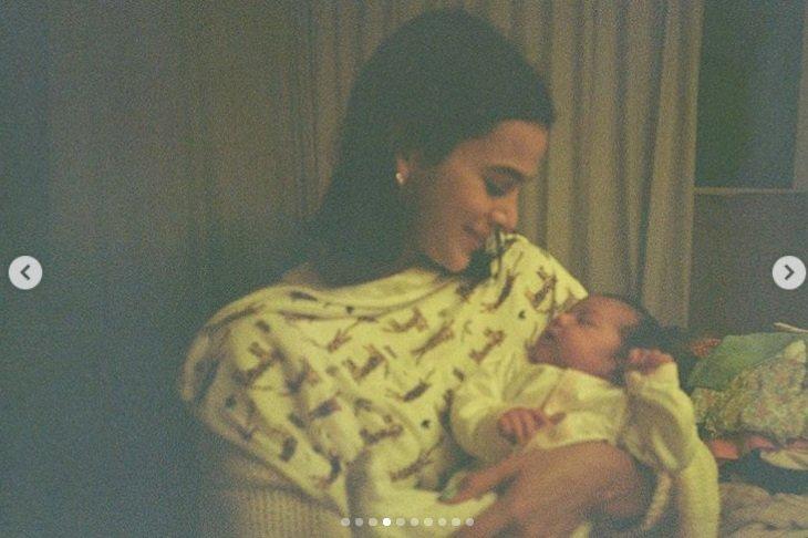 Bruna Marquezine e a filha de Rafael Vitti