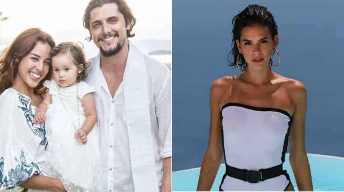 Veja o que Bruno Gissoni e Yanna Lavigne fizeram com atriz da Globo