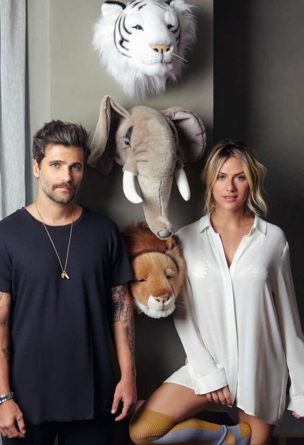 Os pais Giovanna Ewbank e Bruno Gagliasso