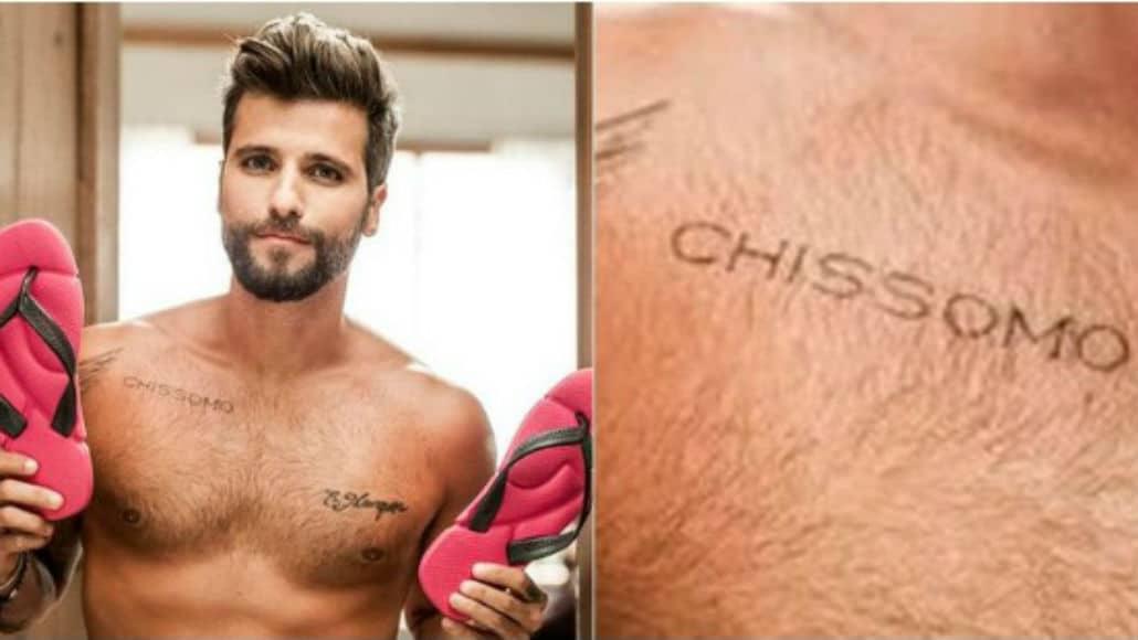 A tatuagem de Bruno Gagliasso