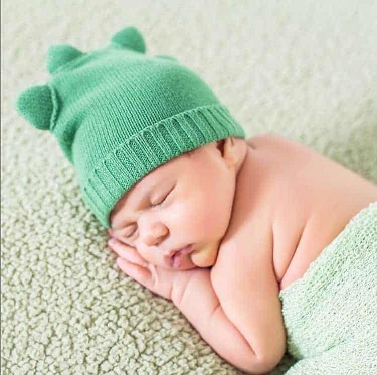 Carol Dantas mostrou o fofo ensaio newborn de seu filho
