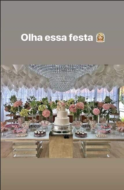 Essa festa foi organizada pela Irmã de Neymar para Carol Dantas