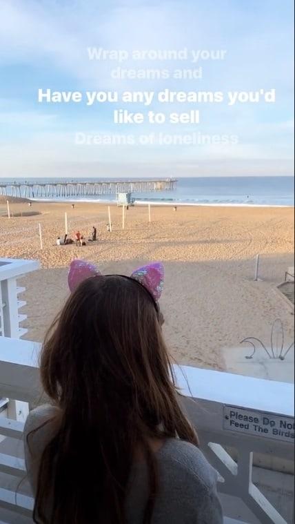 Cauã Reymond mostrou fofa foto de sua filha
