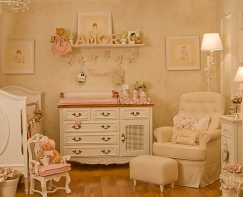 Veja opções de quartos para bebês meninas