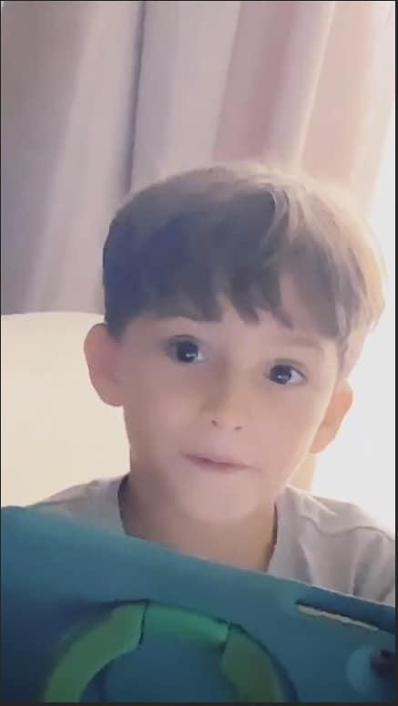 Rafael é o filho mais velho de Claudia Leitte