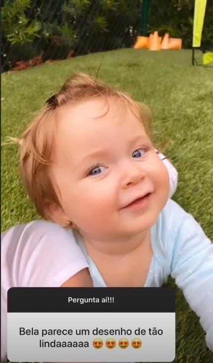 A bebê da cantora Claudia Leitte