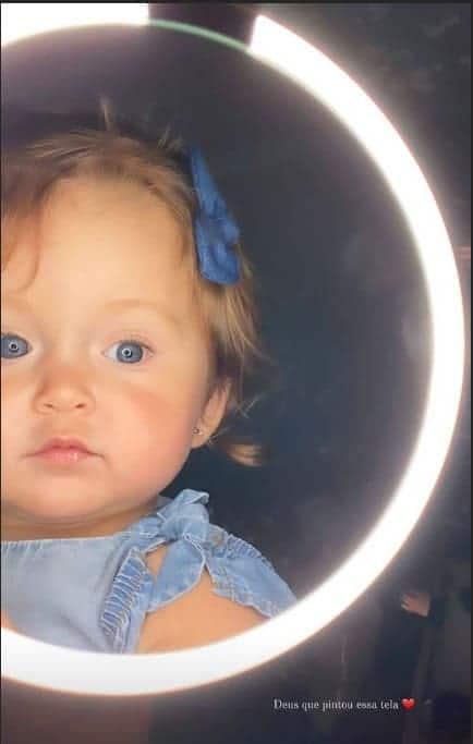 A filha caçula da cantora Claudia Leitte