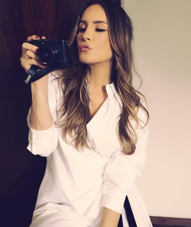 Claudia Leitte em ensaio de fotos
