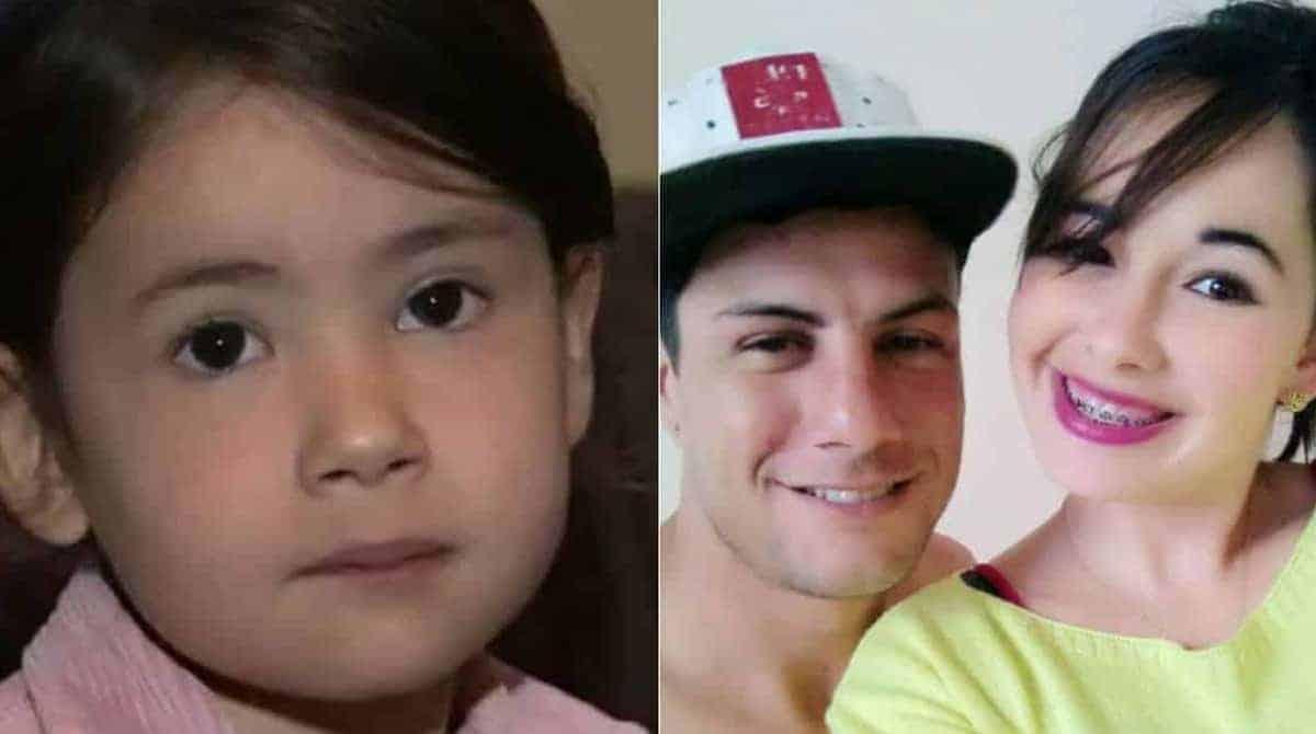 Publicação da Emanuelly Aghata da Silva e seus pais Débora Rolim da Silva e Phelipe Douglas Alves