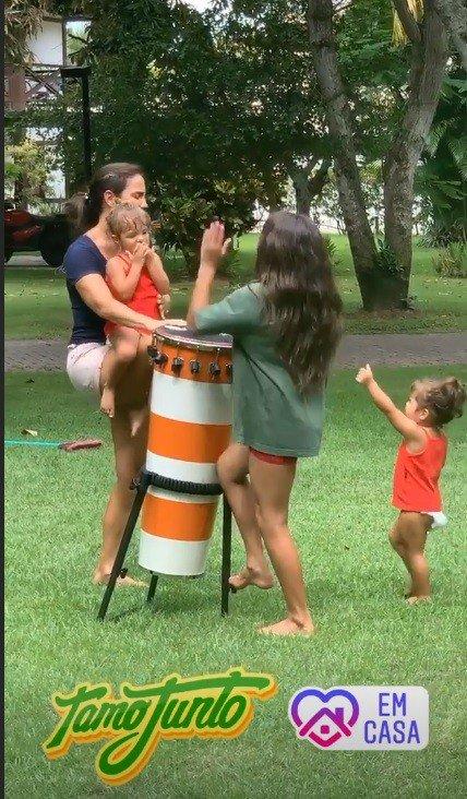 Daniel Cady fez flagra de Ivete Sangalo com seus filhos
