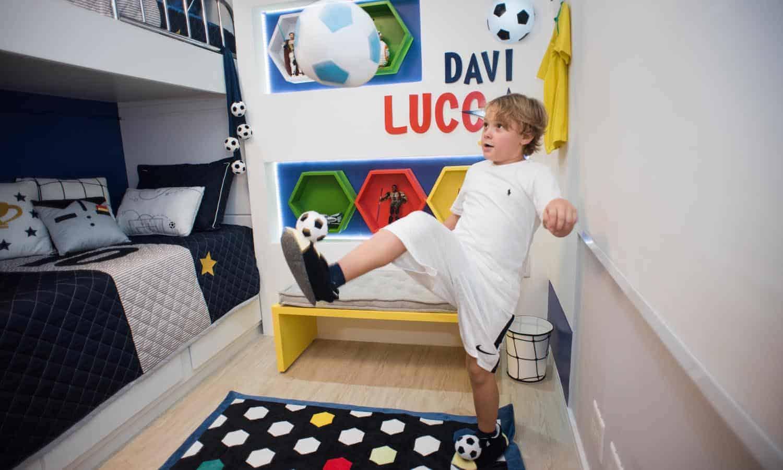 Quarto de Davi Lucca, filho de Neymar Jr