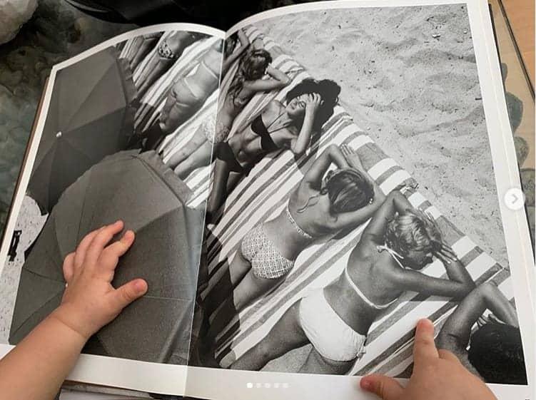 José Loreto postou essa foto da mãozinha da filha